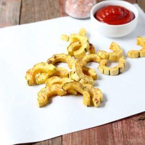 Parmesan Roasted Delicata Squash Recipe