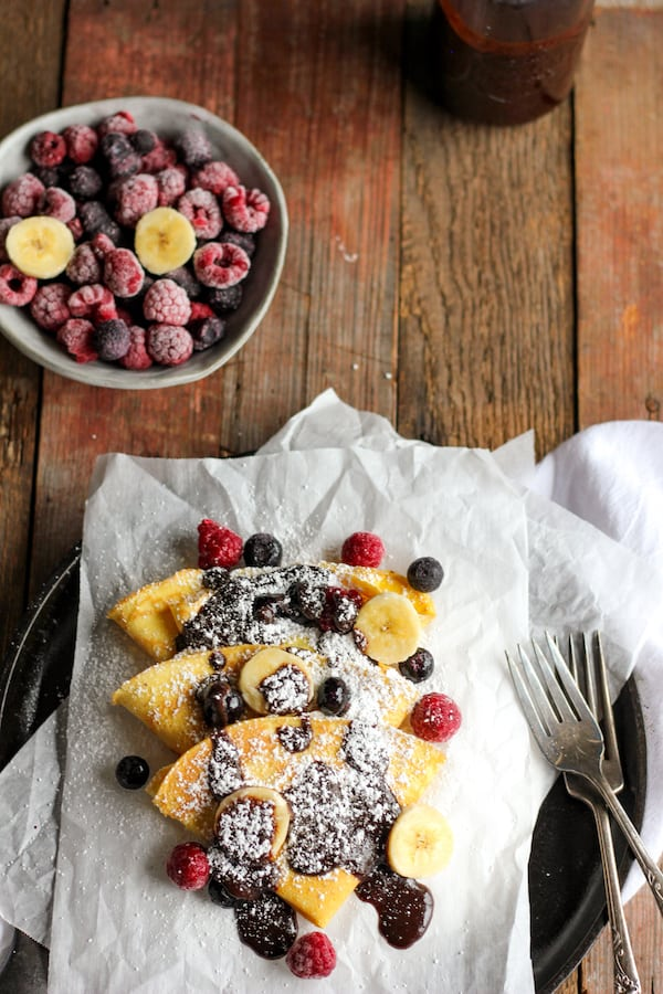 Try this coconut flour crepes recipe for a truly delicious breakfast treat!