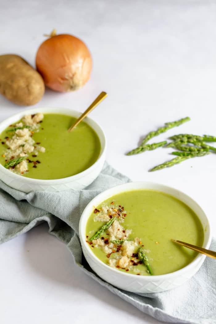 simple asparagus soup