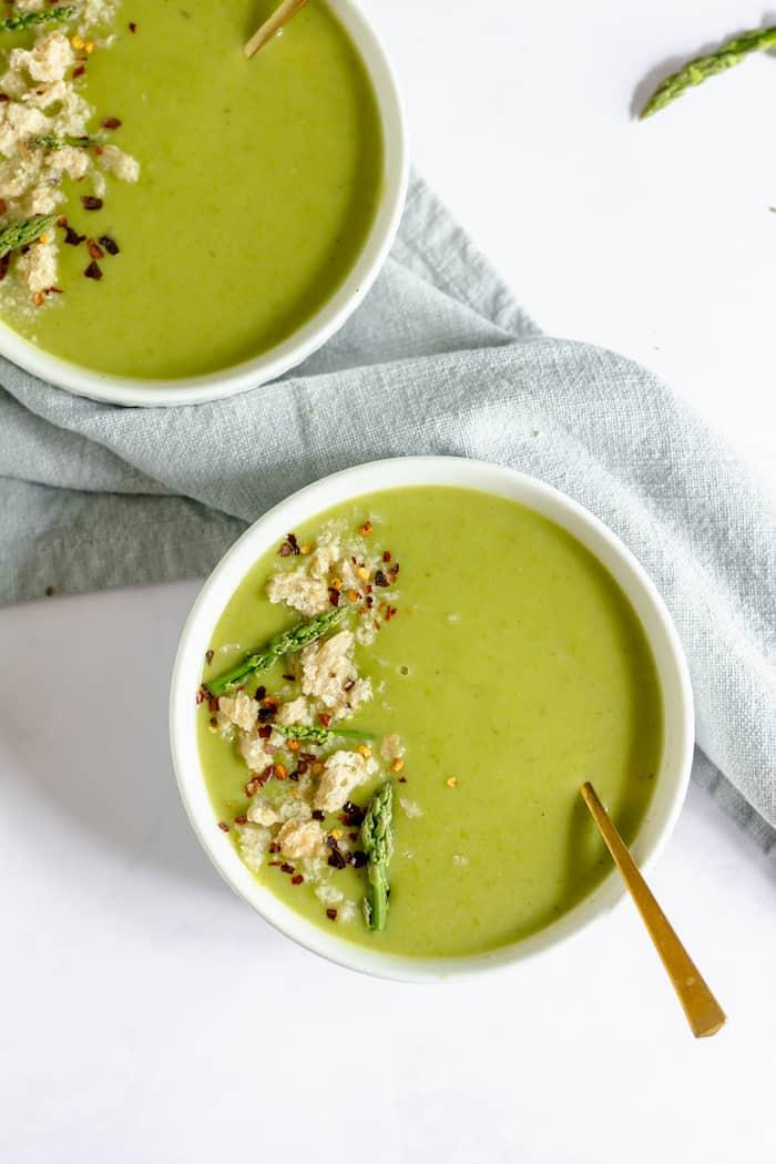 Easy cream of asparagus soup recipe