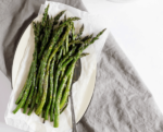 easy, healthy vegetable side dish - roasted asparagus!