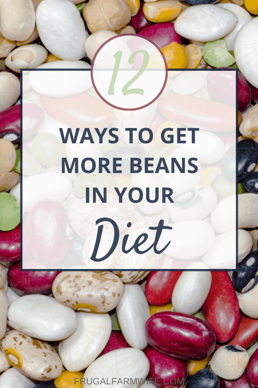 how to eat more beans without getting bored!