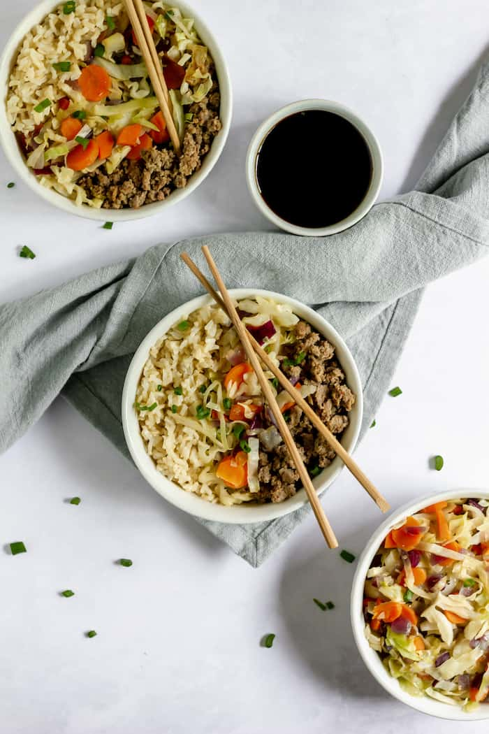 Easy Egg Roll In a Bowl Recipe - so delicious!