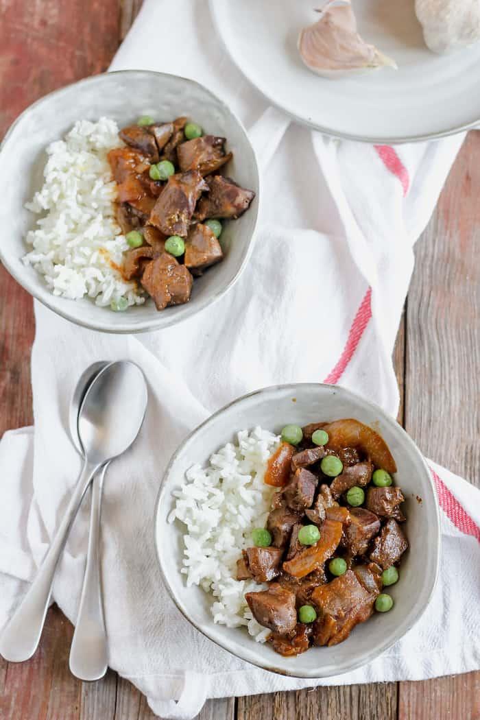 Slow cooker beef heart recipe