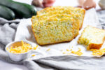 Cheesy Zucchini bread with onions - gluten-free