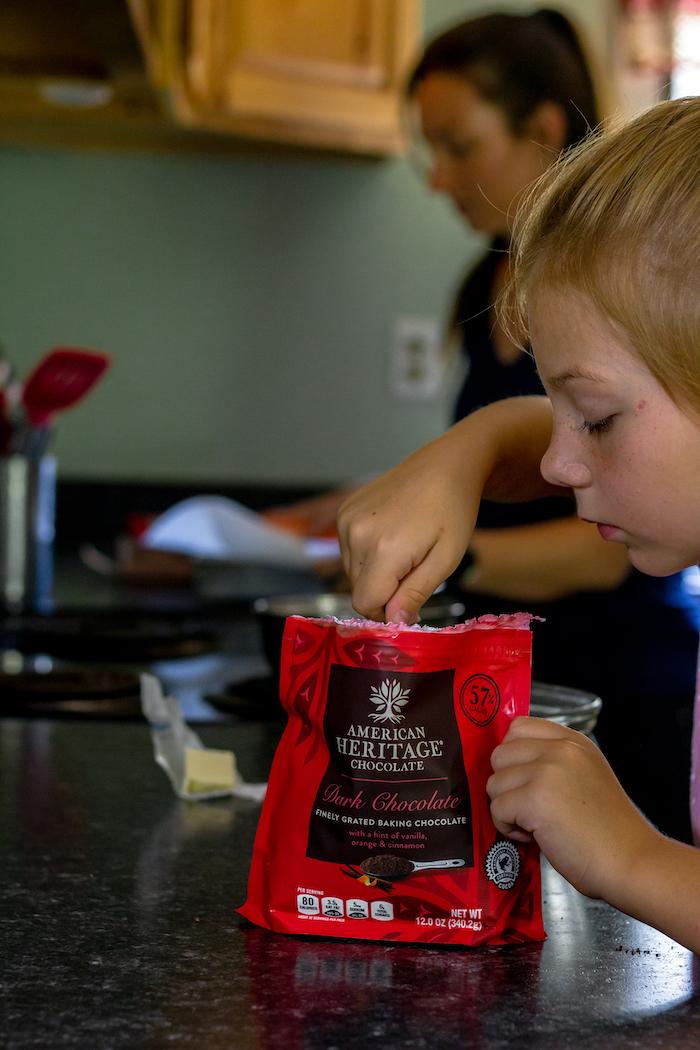 dark chocolate for baking