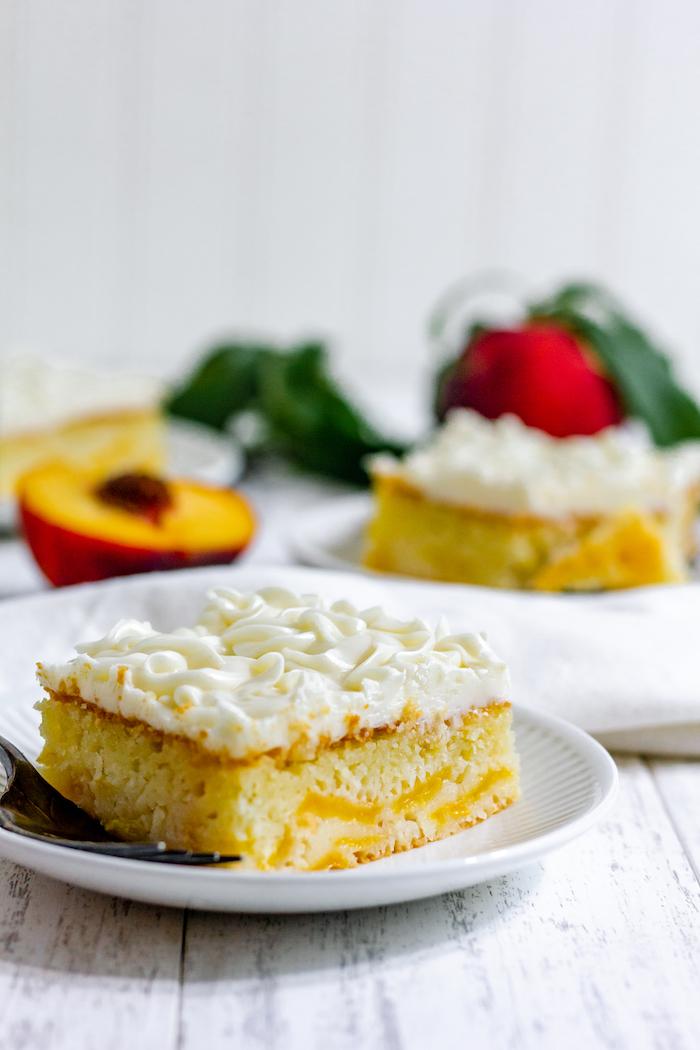 peach cake, gluten free