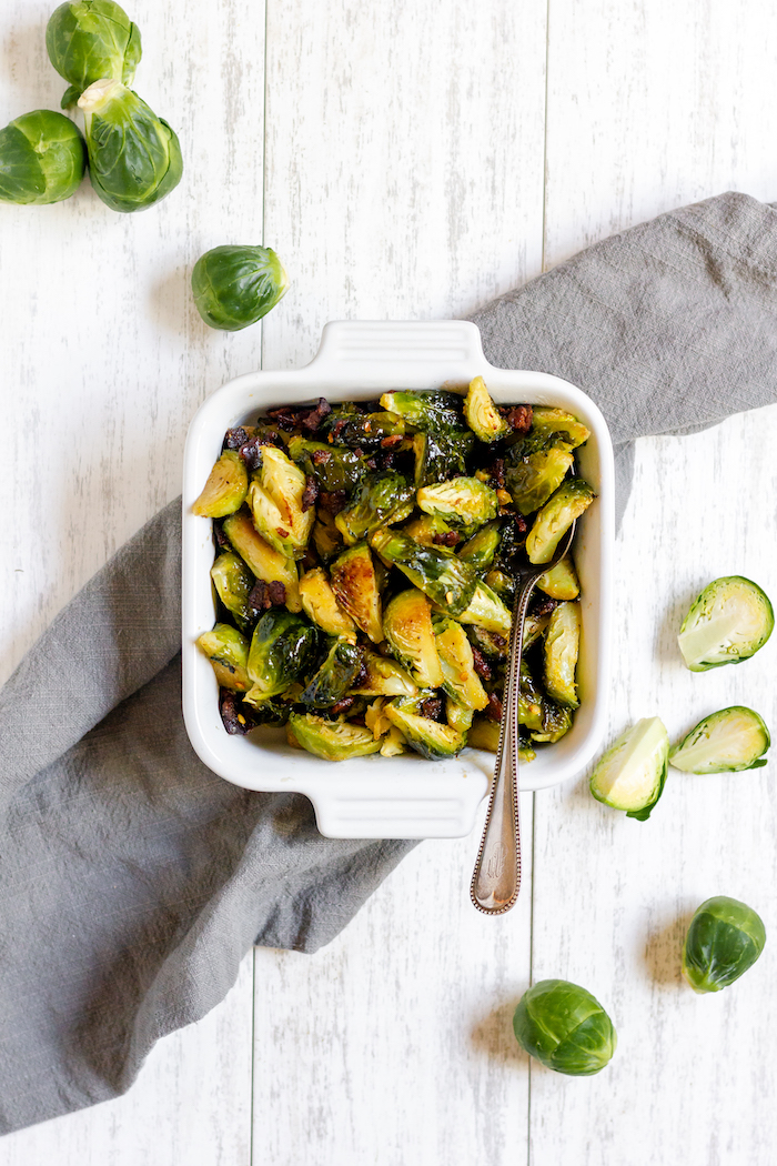 maple bacon brussel sprouts recipe